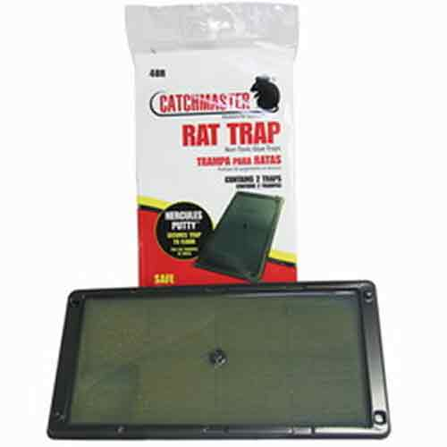 Catchmaster 48R Glue Boards- Mouse Rat Insect Bug Trap