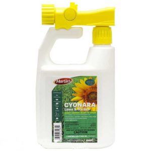 Cyonara professional grade lawn garden flower vegetable insect control spray