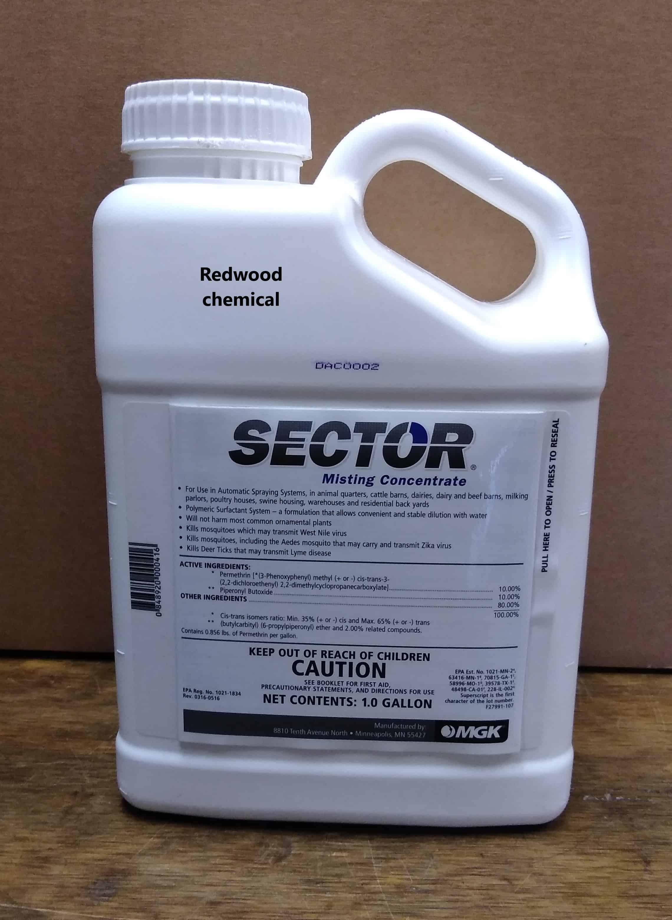Sector Misting Concentrate 1 Gal.