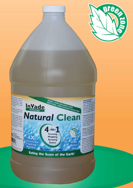 InVade Natural Clean 4 in 1 Cleaning Agent